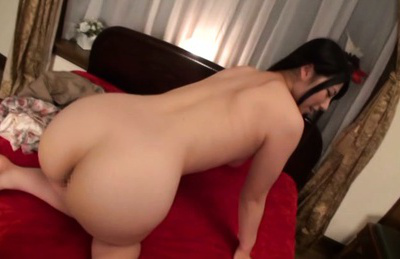 Ai uehara. Ai Uehara Asian has round cans squeezed and licks penis head